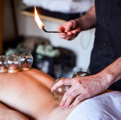 Portland fire cupping sports massage